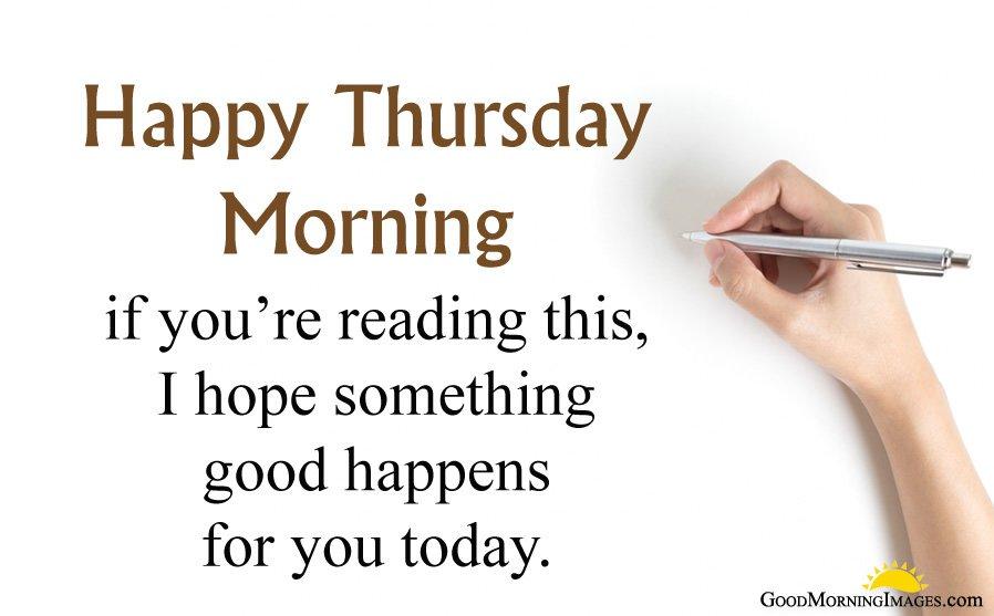 Something Good on Thursday Sayings