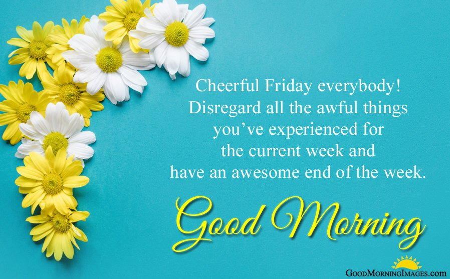 Friday Morning Blessing Wishes