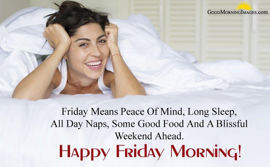 Happy Friday Morning