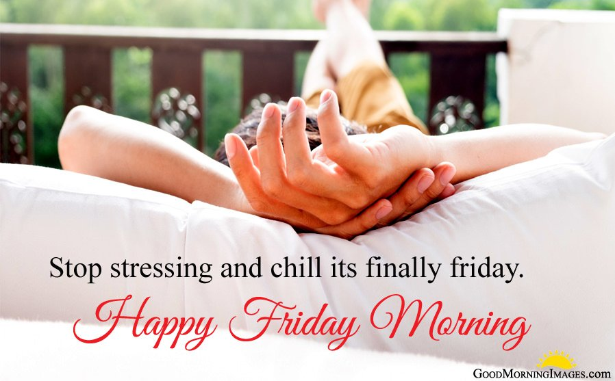 Stop Stressing Quote on Friday Morning